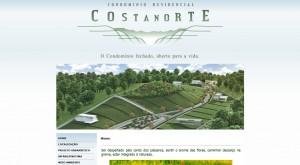 Hotsite: Condomínio Residencial Costa Norte