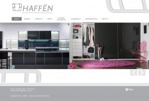Haffen, portas de alumínio para móveis